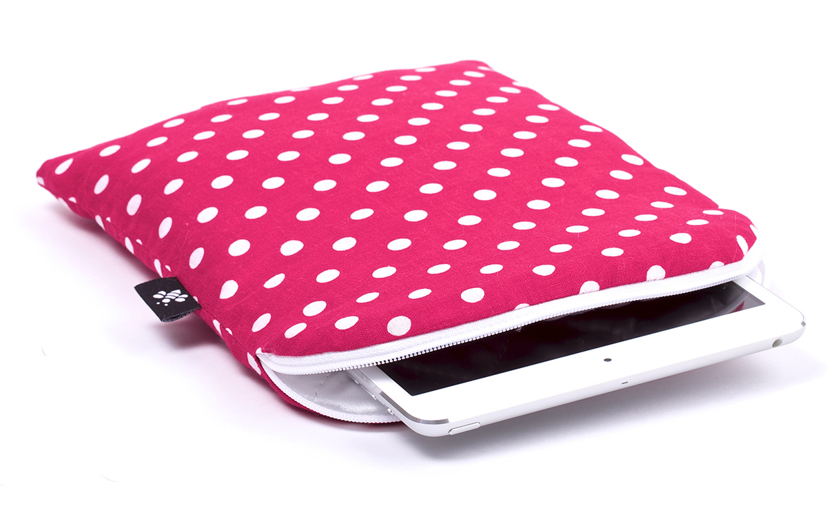 Housse rouge ros e ipad mini rose rouge for Housse ipad mini