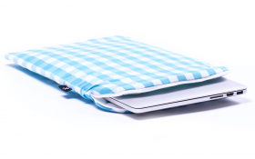 Housse bleu manches pour Macbook - Heavenly Delight