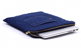 La housse bleue MacBook - Billy Jeans