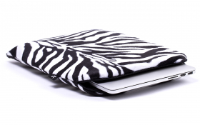 Housse Zebre Macbook - Zebra Mania
