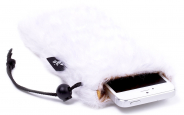Housse blanche pour iPhone